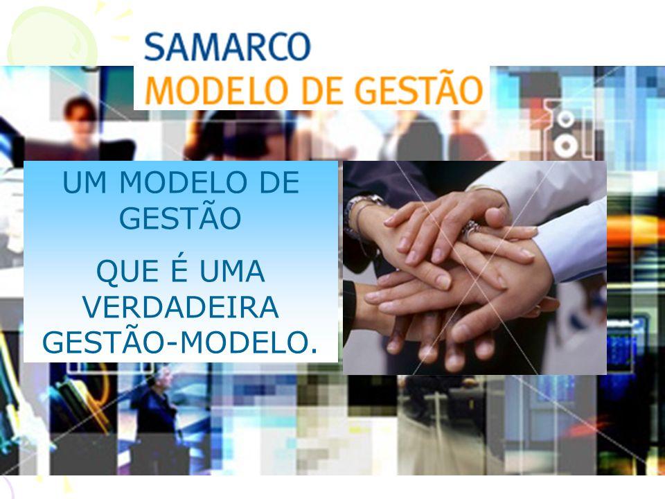 UM MODELO DE GESTÃO QUE É UMA VERDADEIRA GESTÃO-MODELO.