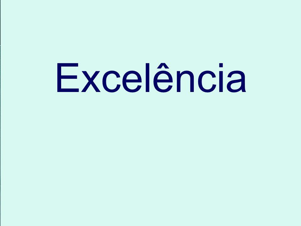 Qualidade de produtos Serviços Qualidade de vida Qualidade de relacionamento Eleva o moral Excelência