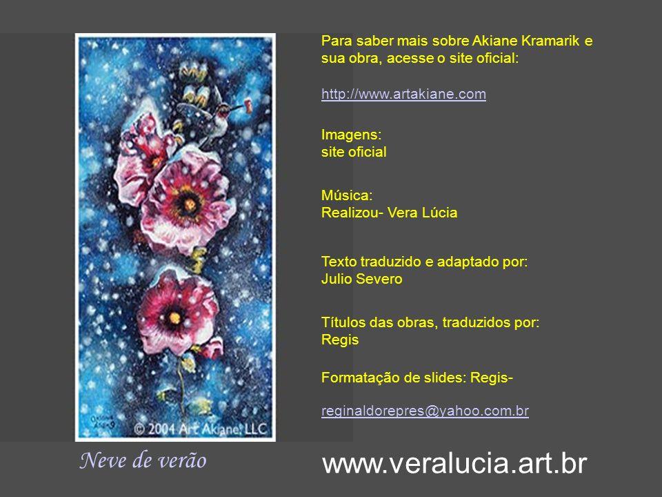 Esta é minha vida www.veralucia.art.br