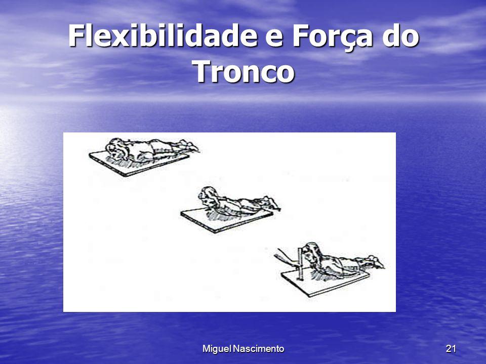 Miguel Nascimento21 Flexibilidade e Força do Tronco