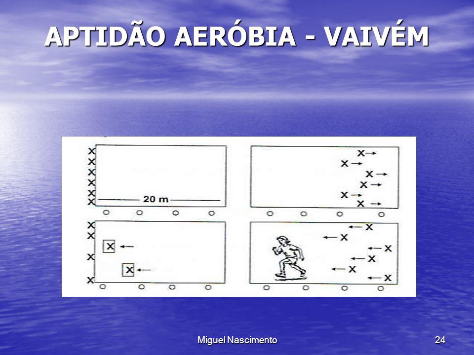 Miguel Nascimento24 APTIDÃO AERÓBIA - VAIVÉM