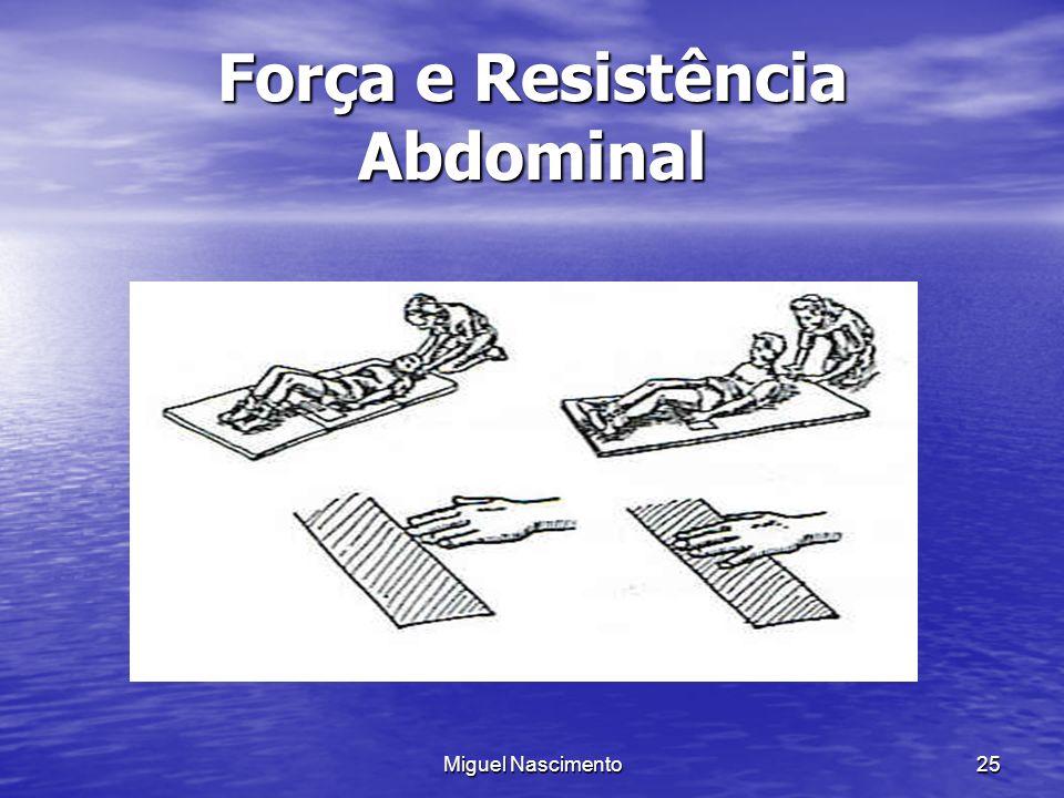 Miguel Nascimento25 Força e Resistência Abdominal