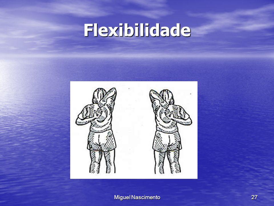 Miguel Nascimento27 Flexibilidade