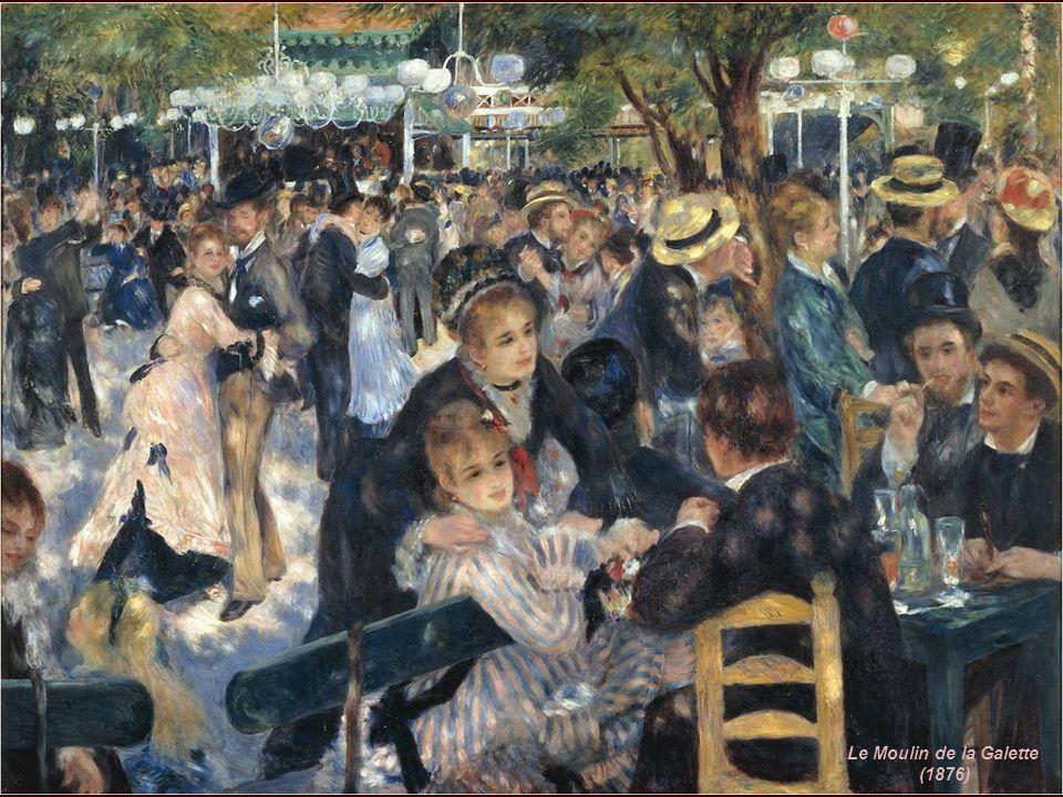 Em 1908, para Renoir se tornou difícil caminhar com uma só bengala e o pintor começou a utilizar duas.