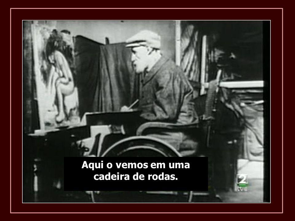 Em 1907 pesava 49 quilos e mal podia sentar-se. Depois de 1910 não pode mais locomover-se com muletas e permanceu prostrado em uma cadeira de rodas.