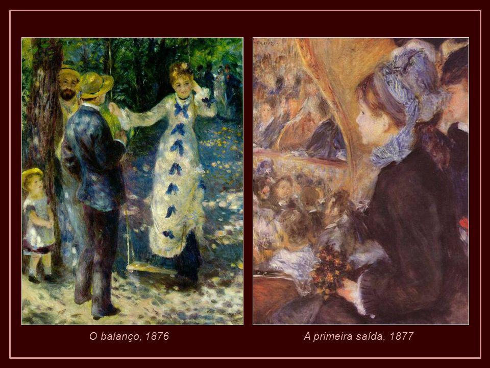Quando olhamos as pinturas de Renoir, é fácil esquecer que ele carregava um grave problema (…). Pintar foi quase uma necessidade física e, às vezes, u
