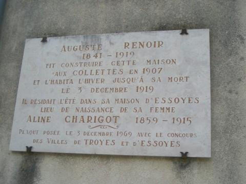 Túmulo da familia Renoir em Essoyes