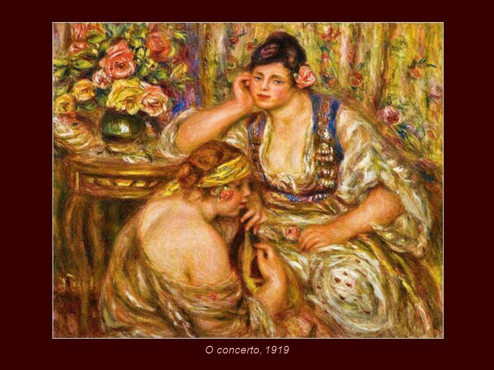 Mulher no toucador, 1918