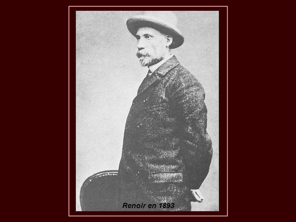 Pierre-Auguste Renoir morreu no dia 3 de dezembro de 1919, por causa de uma forte pneumonia, e foi enterrado em Essoyes, junto à sua esposa Aline Charigot.