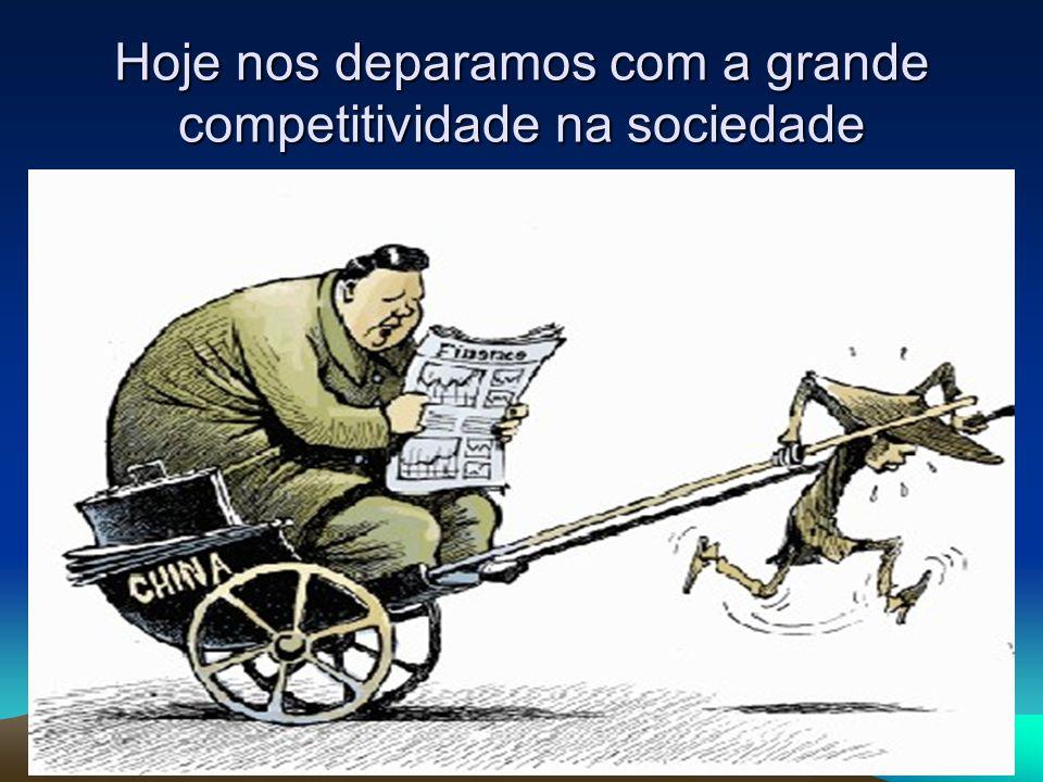 Hoje nos deparamos com a grande competitividade na sociedade