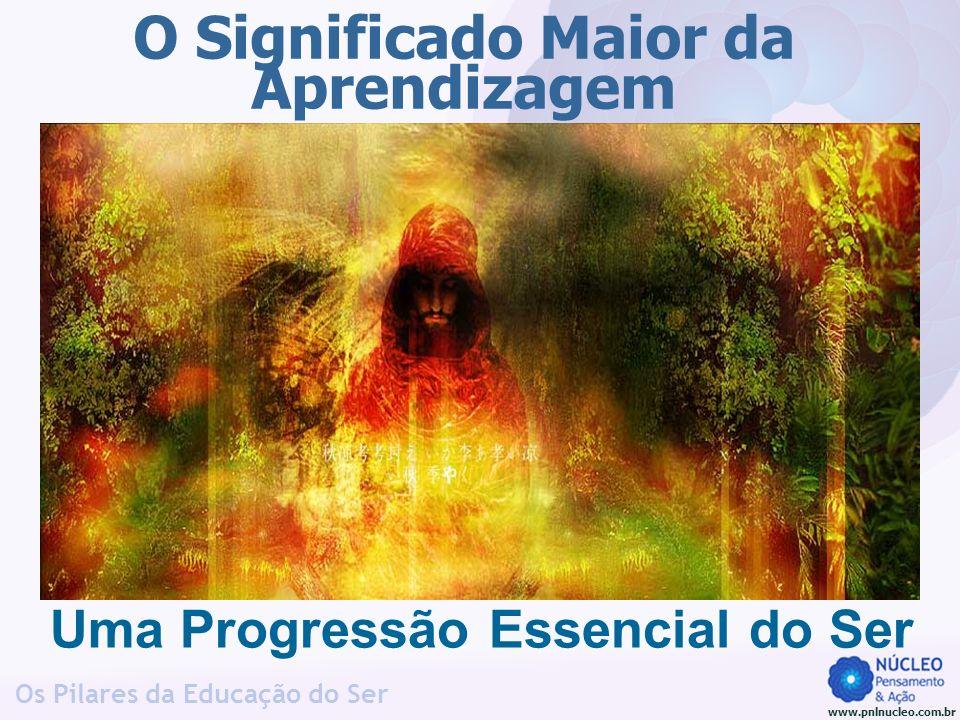 www.pnlnucleo.com.br Os Pilares da Educação do Ser O Significado Maior da Aprendizagem Uma Progressão Essencial do Ser