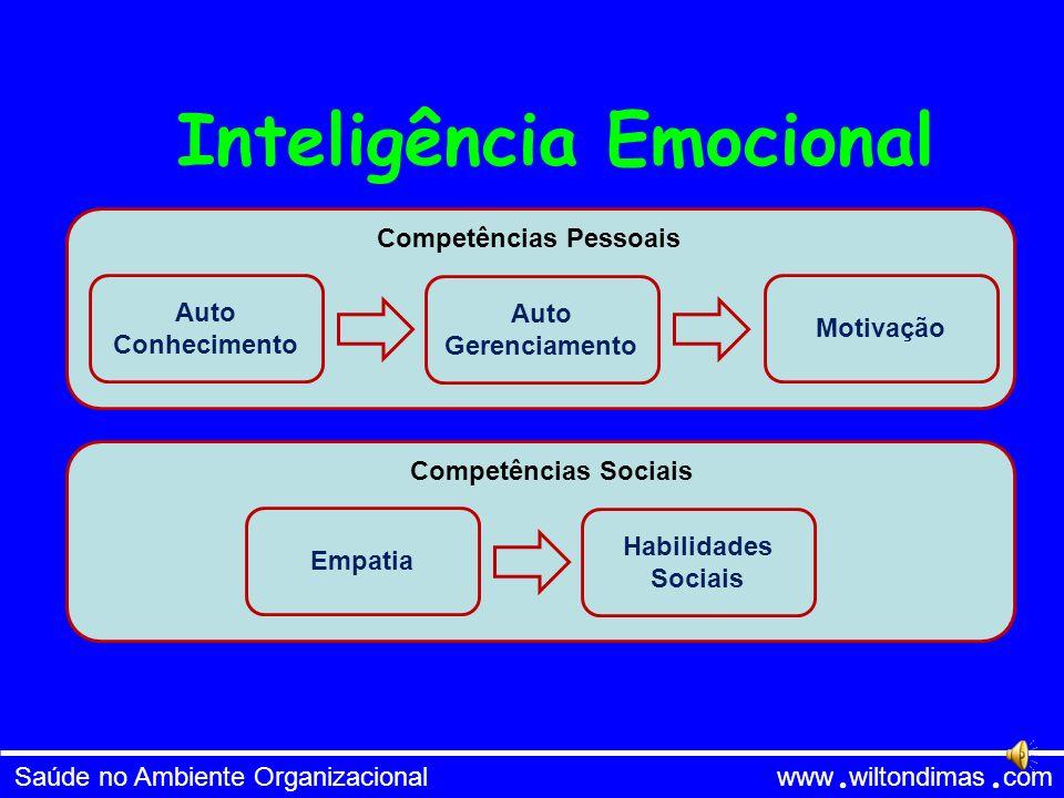 Saúde no Ambiente Organizacional www wiltondimas com - Intrapessoal - Interpessoal - Verbal-Linguística - Espiritual - Musical - Corporal-Cinestésica