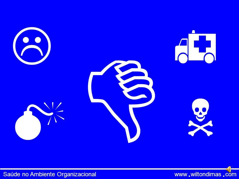 Saúde no Ambiente Organizacional www wiltondimas com Inteligência Emocional Competências Pessoais Auto Conhecimento Auto Gerenciamento Motivação Compe