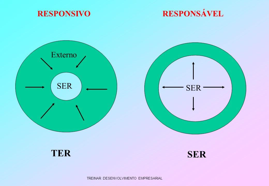 TREINAR DESENVOLVIMENTO EMPRESARIAL SER Externo RESPONSIVORESPONSÁVEL TER SER