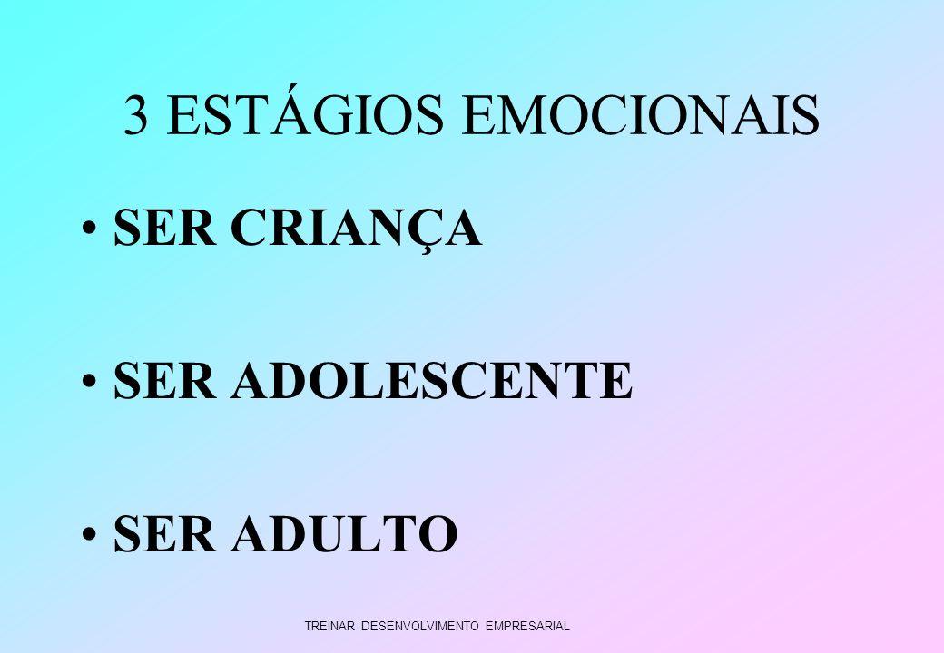 TREINAR DESENVOLVIMENTO EMPRESARIAL 3 ESTÁGIOS EMOCIONAIS SER CRIANÇA SER ADOLESCENTE SER ADULTO