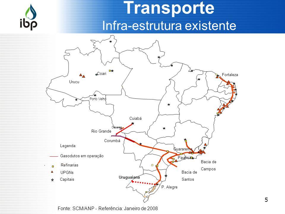 5 Transporte Infra-estrutura existente Salvador