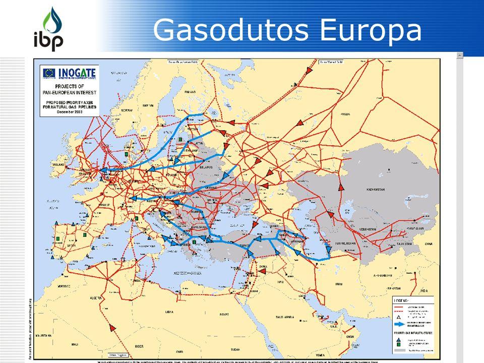 6 Gasodutos Europa
