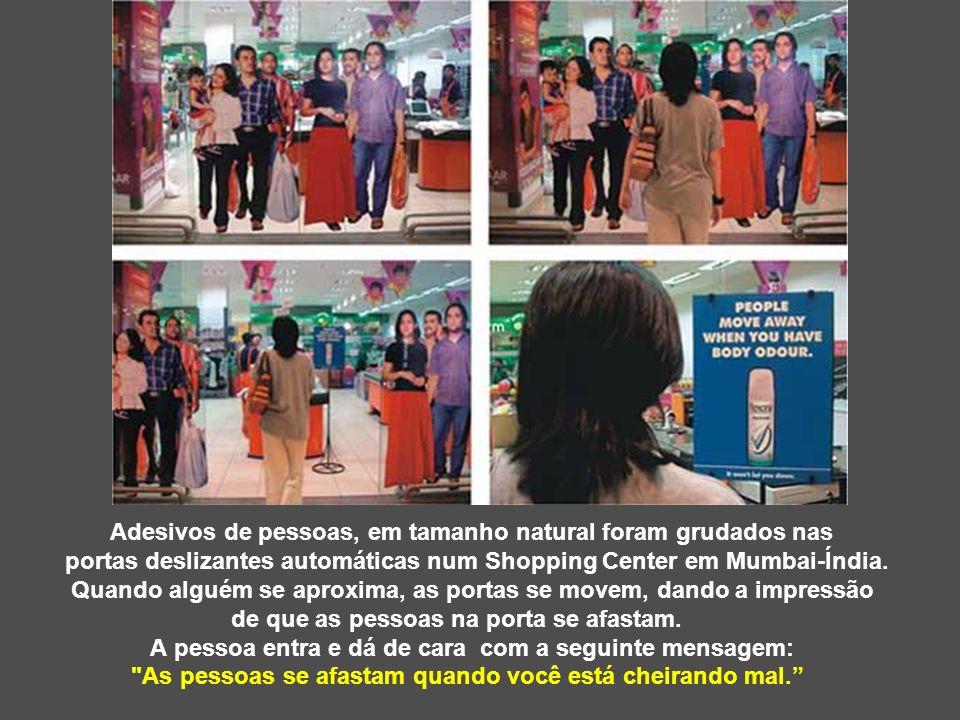 Esta é uma grande campanha realizada no Unicenter Shopping Mall, para o Dia dos Namorados, em Buenos Aires-Argentina.