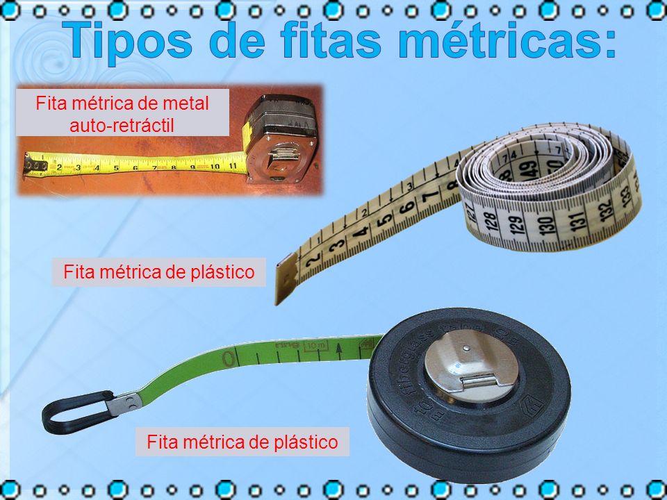 Fita métrica de metal auto-retráctil Fita métrica de plástico