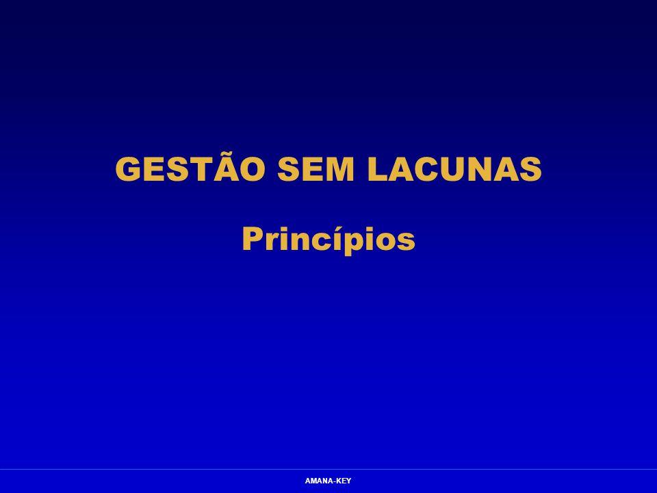 AMANA-KEY GESTÃO SEM LACUNAS Princípios