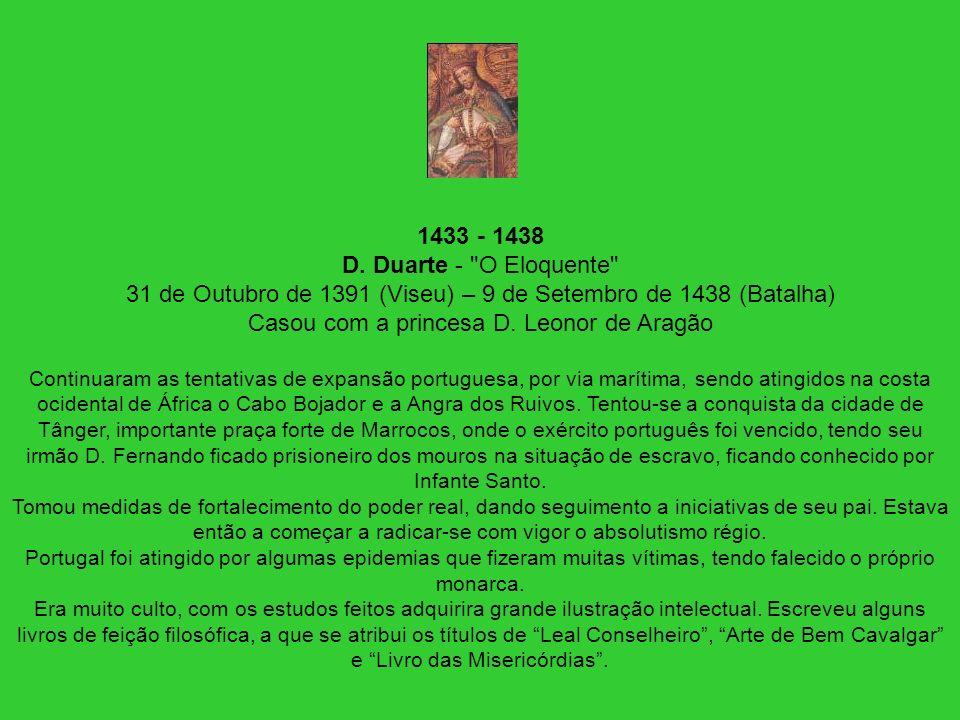 1433 - 1438 D. Duarte -