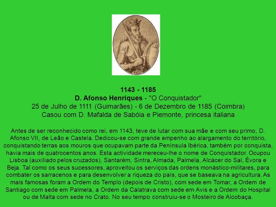 1143 - 1185 D. Afonso Henriques -