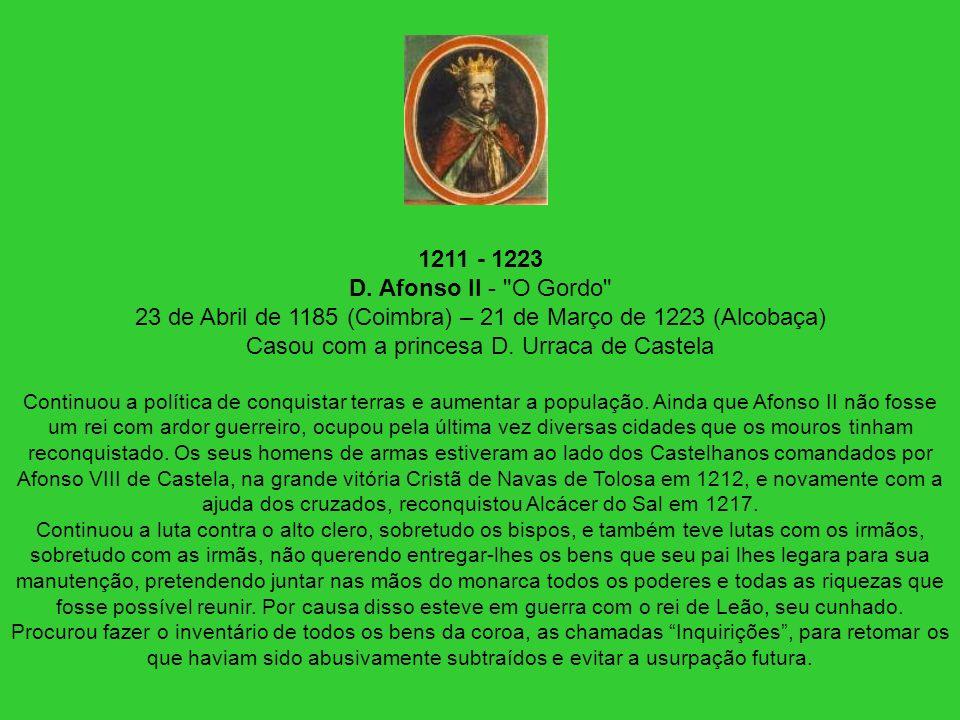 1211 - 1223 D. Afonso II -
