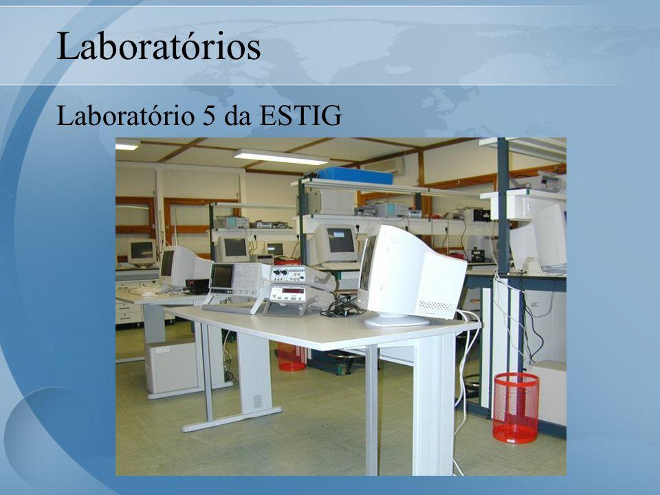 Laboratórios Laboratório 5 da ESTIG (Pavilhões da ESAB)