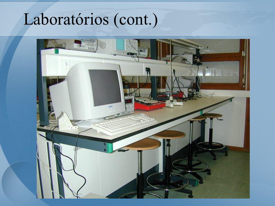 Laboratórios (cont.)