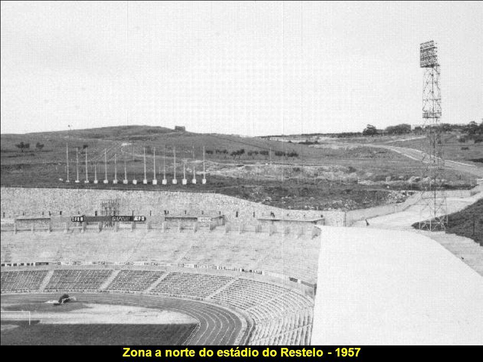Zona a norte do estádio do Restelo - 1957
