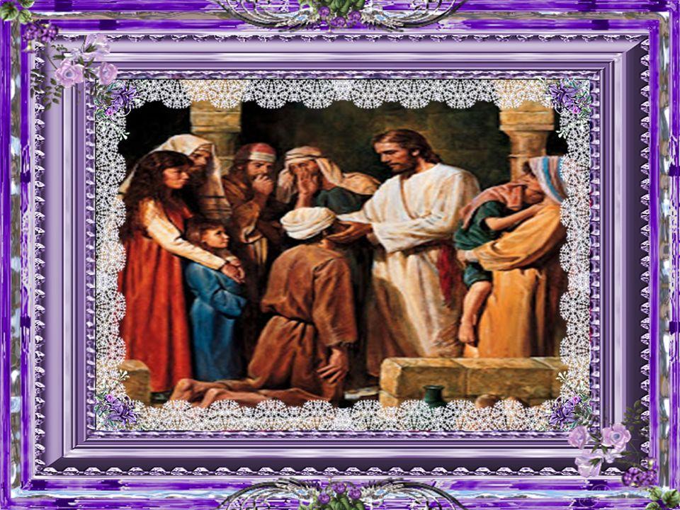 Nós Te bendizemos pela nova criação realizada pelo teu Filho, que remodelou a nossa humanidade, e pela cura dos nossos olhos, quando estão fechados ao próximo e à luz da tua presença.