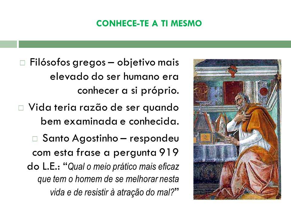 CONHECE-TE A TI MESMO Frase no Templo de Delphos para alertar os homens a se auto-conhecerem.