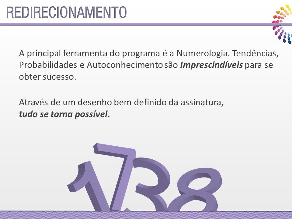A principal ferramenta do programa é a Numerologia.