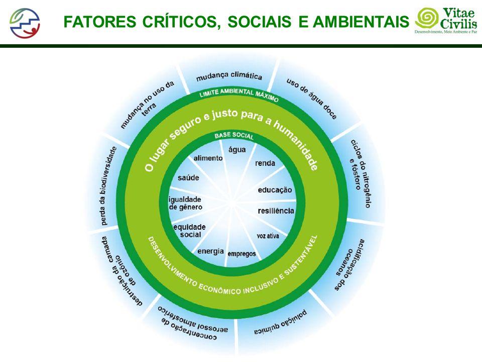 FATORES CRÍTICOS, SOCIAIS E AMBIENTAIS