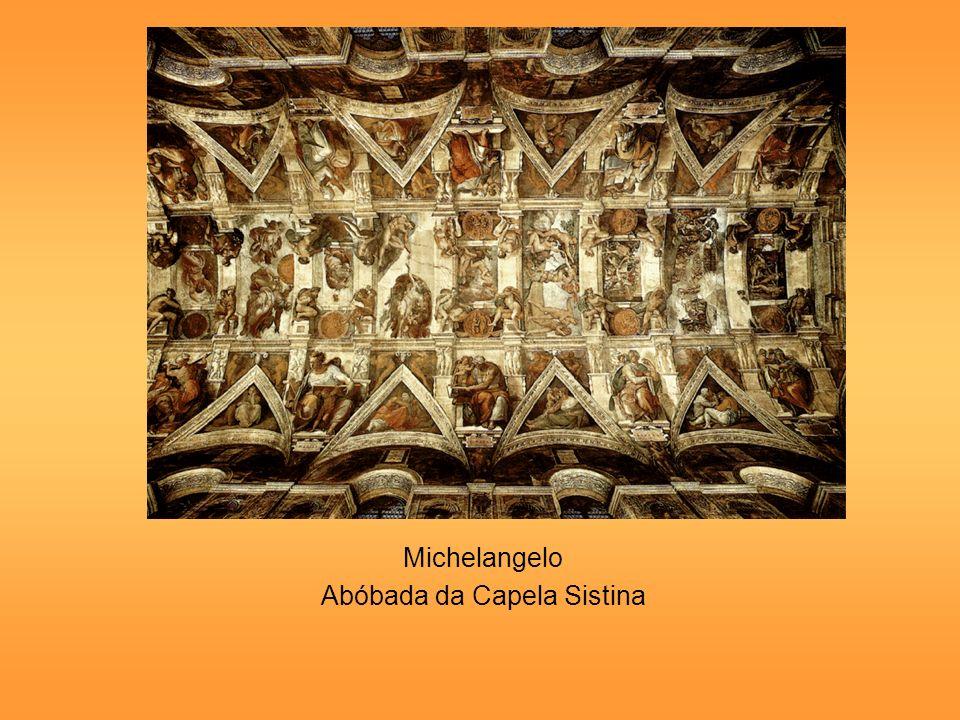 Michelangelo Abóbada da Capela Sistina