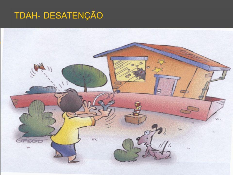 TDAH- DESATENÇÃO