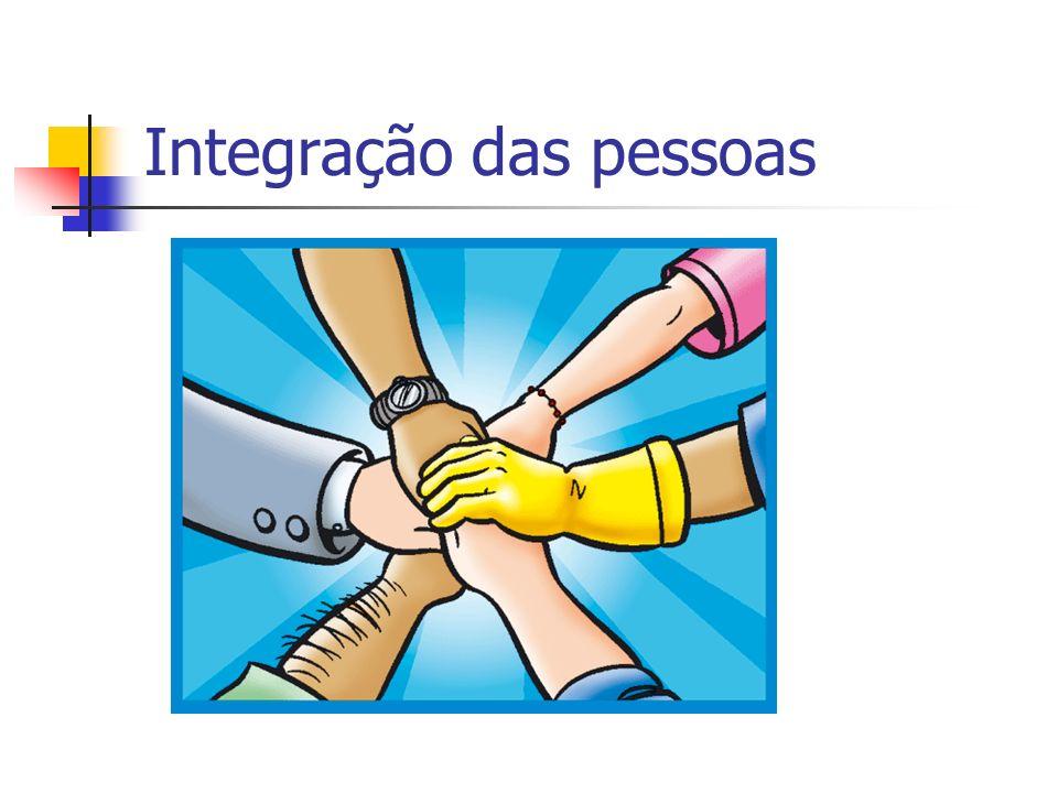 Integração das pessoas