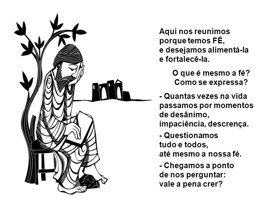 REFLEXÃO DA LITURGIA DOMINICAL REFLEXÃO DA LITURGIA DOMINICAL Creio, Senhor, mas aumentai a minha fé !