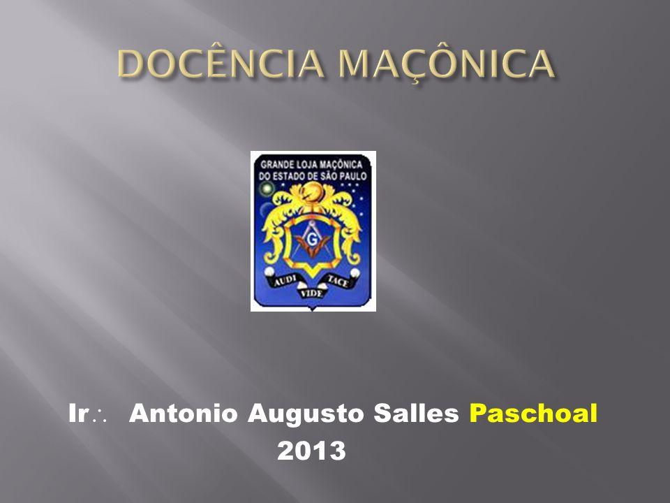 Ir Antonio Augusto Salles Paschoal 2013