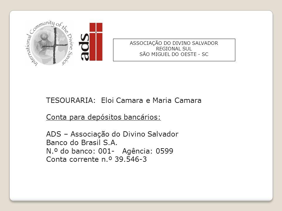 ADS - Associação do Divino Salvador - Regional Sul ADS - REGIONAL SUL Ano 2013 Membros DesistênciasFalecidosTotal Nome do Grupo Compromisso comsem Águ