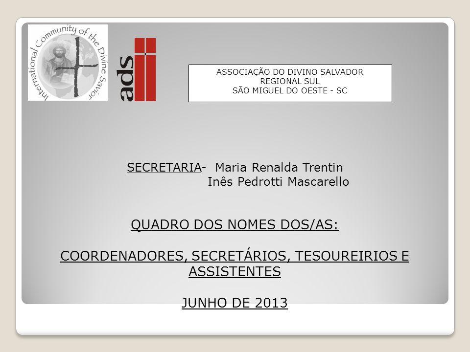 SALDO RECEBIDO DA COORDENAÇÃO ANTERIOR Data: Valor R$ 5.048,74 (Saldo em conta corrente) REPASSES FEITOS A ADS-NACIONAL Ano 2011 – Mensalidades R$ 4.9