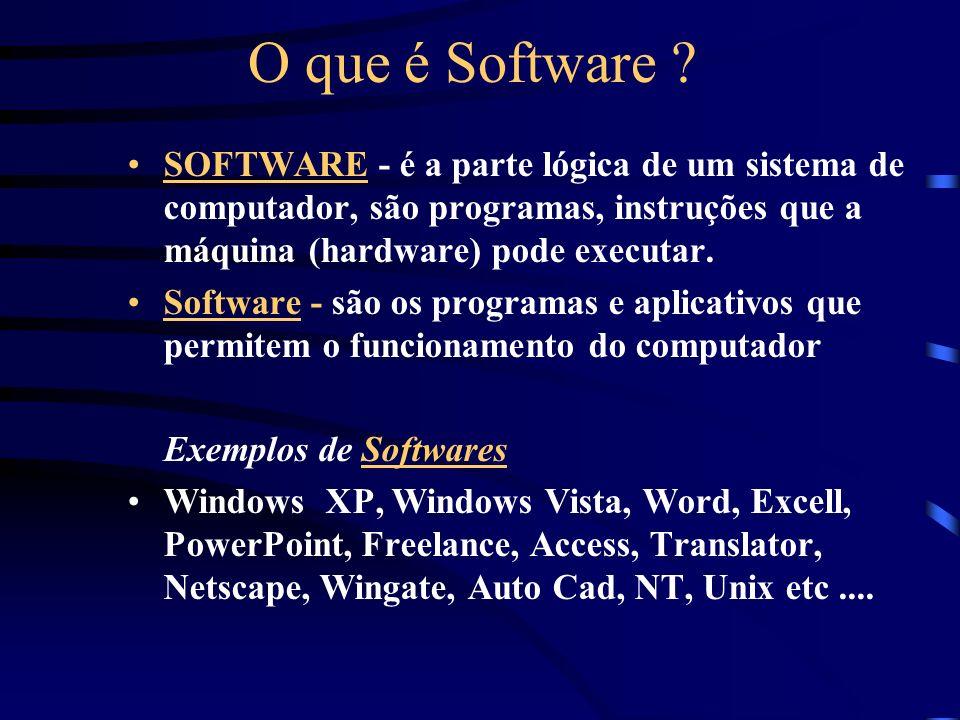 O que é Software .