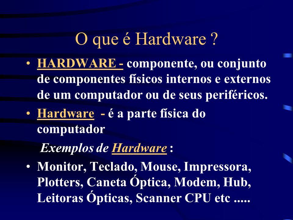 O que é Hardware .