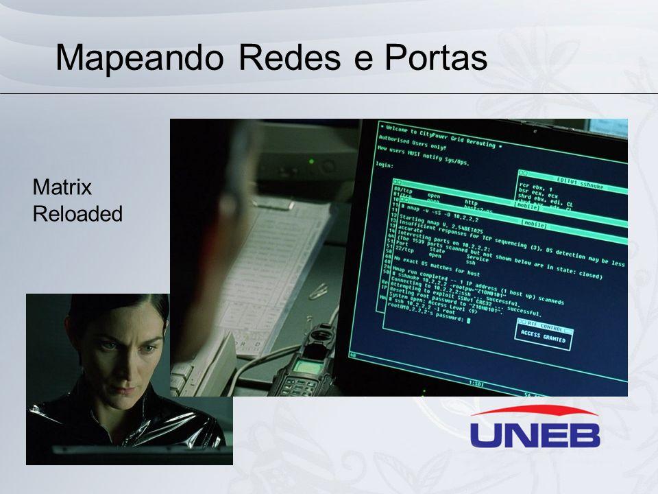 Mapeando Vulnerabilidades Nikto: Ferramenta para URLScan (webscan), ou seja, análise de vulnerabilidades em ambiente Web.