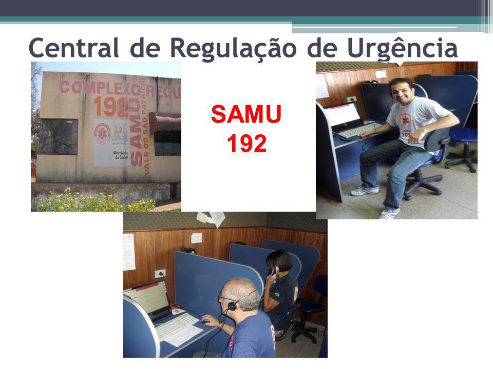 Central de Regulação de Urgência SAMU 192