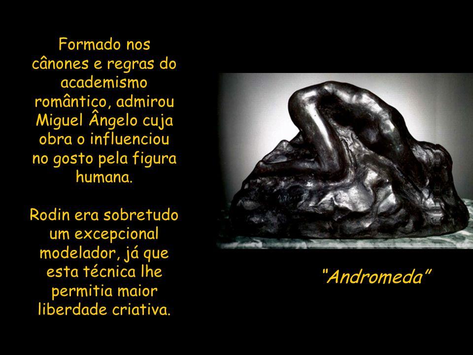 Portas do Inferno, pormenor Rodin foi considerado um realista, um simbolista, um expressionista e mesmo um impressionista, se se aplica o termo em escultura.