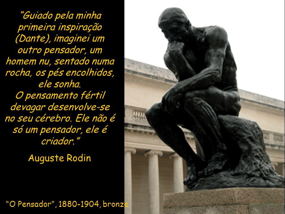 Esta obra resultou de uma das primeiras encomendas públicas feitas a Rodin. Nela o autor evocou a história dos seis notáveis de Calais que se entregar