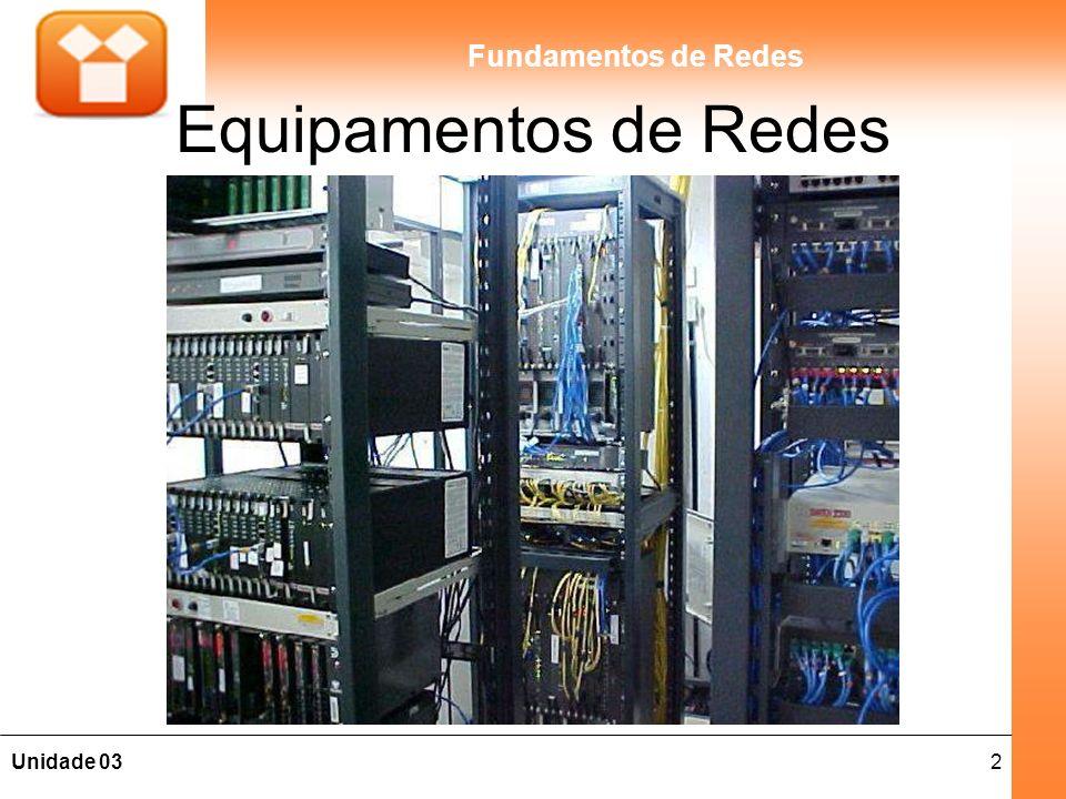 2Unidade 03 Fundamentos de Redes Equipamentos de Redes