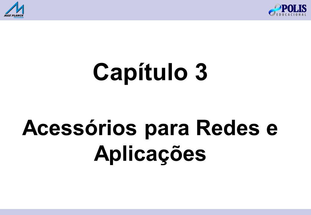 Capítulo 3 Acessórios para Redes e Aplicações