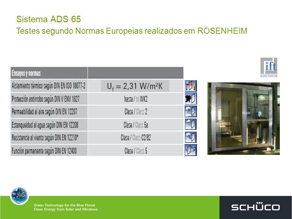 Sistema ADS 65 Testes ROSENHEIM